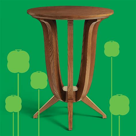 imperial deco solid ash side table   furniture