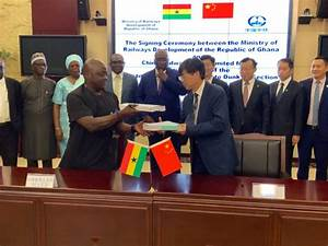 Ghana  China Sign Railway Deal