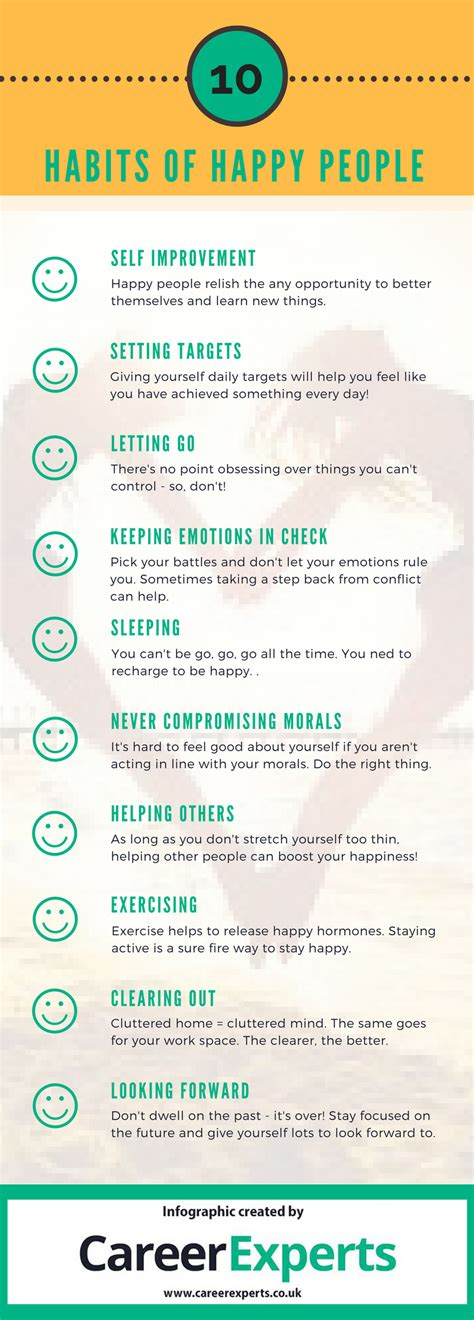 How To Be Happy 10 Habits Of Happy People