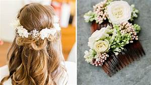 Couronne Fleur Cheveux Mariage : mariage je veux des fleurs dans mes cheveux ~ Melissatoandfro.com Idées de Décoration