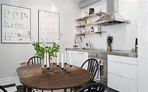 Deco scandinave cuisine for Idee deco cuisine avec meuble tv esprit scandinave