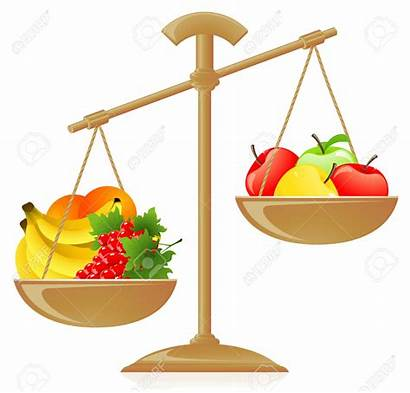 Fruit Balance Scale Weight Scales Het Clipart