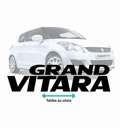 Suzuki Vitara Stickers Grand Developper Voiture