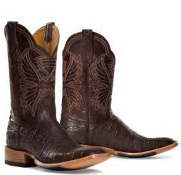 Exotic Rugs For Sale by Cinch Caiman Antique Brown Cowboy Boot For Men