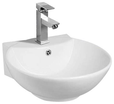 small white vessel sink small bathroom sink vessel white china wall mount