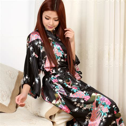 robe de chambre femme satin womens kimono satin robe faux silk gown