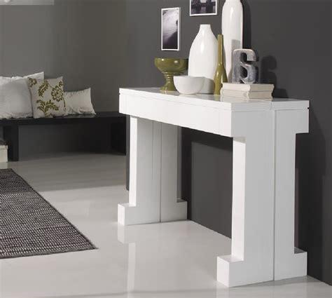 petites tables de cuisine console extensible