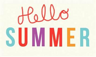 Summer Hello Fun Colorful