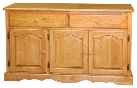 Farmhouse Sideboards And Buffets by Sunset Trading Treasure Buffet Light Oak Finish
