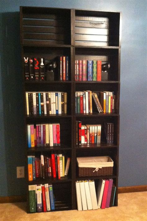 And Bookshelf by 25 Best Ideas About Crate Bookshelf On