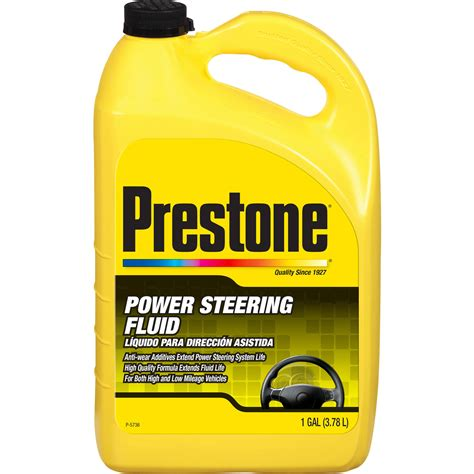 Prestone Power Steering Fluid, 1 Gallon