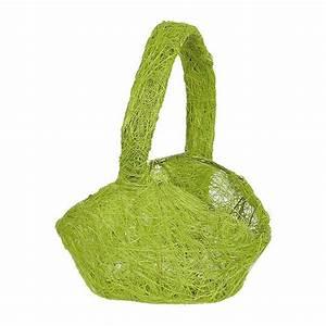 Körbchen Mit Henkel : gewebtes k rbchen mit henkel hellgr n g nstig kaufen bei ~ Watch28wear.com Haus und Dekorationen