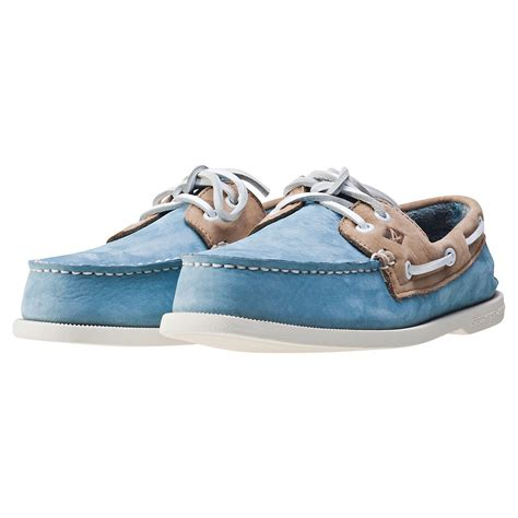 Sperry Washable Boat Shoes by Sperry A O Washable Mens Boat Shoes In Blue Bone