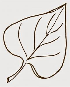leaf cut out template clipart best With leaf cut outs templates