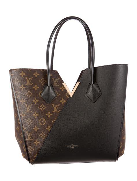 louis vuitton monogram kimono tote handbags lou  realreal