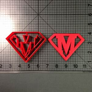 super letter m cookie cutter With letter m cookie cutter