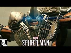 Spider-Man PS4 Gameplay German #42 - Rhino & Scorpion Boss ...