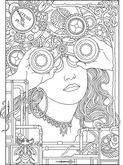 art therapy coloring pages  adults  printable art