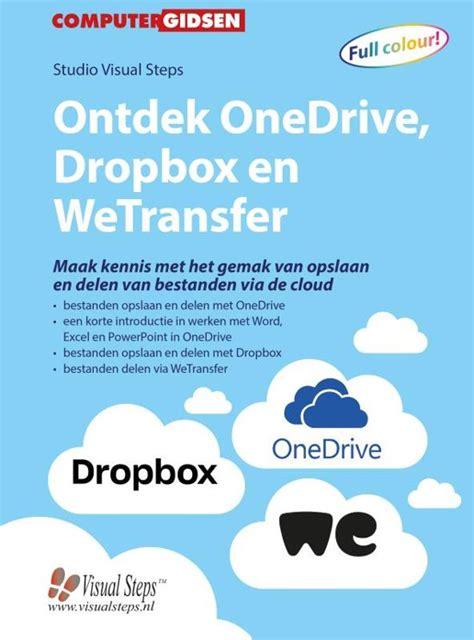 bolcom ontdek onedrive dropbox en wetransfer studio visual steps  boeken