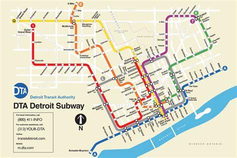 check    fanciful detroit subway map