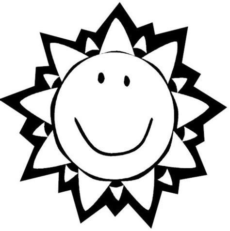 Un sol animado para colorear Imagui