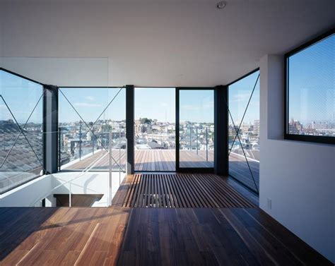the house with a view three story tokyo house with panoramic city views