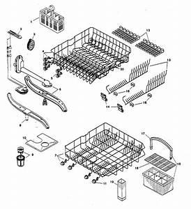 Racks Diagram  U0026 Parts List For Model Shu5306uc