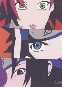 Naruto Sasuke Sakura Team 7 As