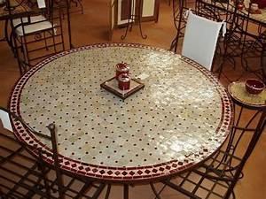 Table Fer Forgé Jardin : table zellige marocain fer forge salon jardin chaise youtube ~ Teatrodelosmanantiales.com Idées de Décoration