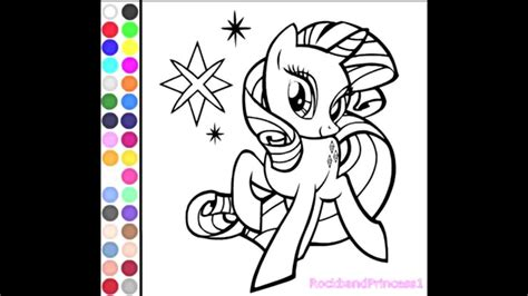 pony coloring  games coloring pages