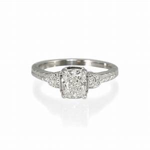 vintage inspired engagement rings wedding promise With replica wedding rings