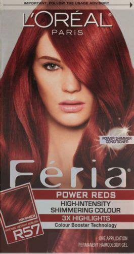 loreal paris feria power reds intense medium auburn
