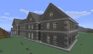 Minecraft Manor House Blueprints