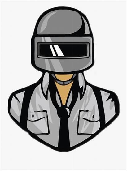 Pubg Stickers Mobile Cartoon Helmet Picsart Character