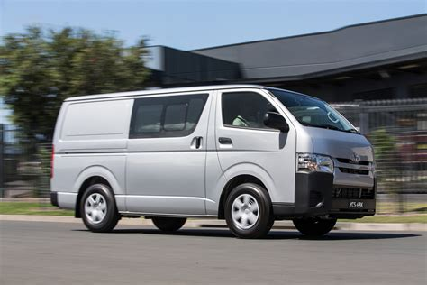 Toyota Hiace by Toyota Hiace Gets A Range Of Updates Photos 1 Of 8