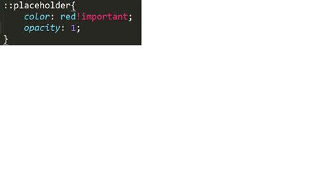 change placeholder color html how can i change html5 textarea placeholder color