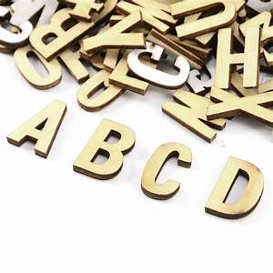270 plain wooden small letter digits adhesive letters With small letters for crafts