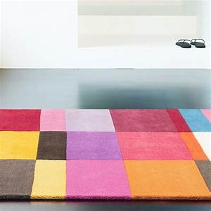 Badezimmergarnitur 3 Teilig : tapis haut de gamme love multicolore par ligne pure ~ Indierocktalk.com Haus und Dekorationen