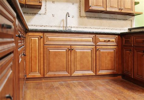 Assembled Kitchen Cabinets by Chino Coffee Glazed Pre Assembled Kitchen Cabinets