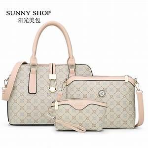 sunny shop3 bag set new mother handbag brand designer With letter bag