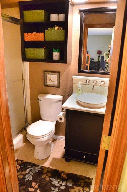 budget bathroom makeover     house