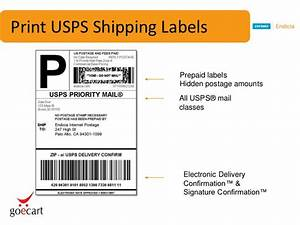 dymo endicia goecart free shipping webinar With how to print prepaid shipping label