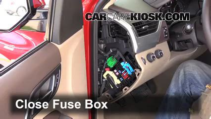 Chevy Expres Fuse Box Replacement by Interior Fuse Box Location 2014 2019 Chevrolet Tahoe