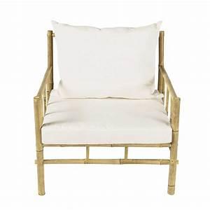 Fauteuil De Jardin Maison Du Monde : fauteuil de jardin en bambou robinson maisons du monde ~ Premium-room.com Idées de Décoration