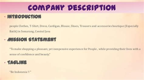 Beauty Mission Statement Examples