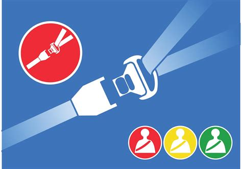seat belt vectors   vector art stock graphics images