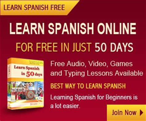 Learn Spanish Free Online  Dexdel Web Banners Pinterest