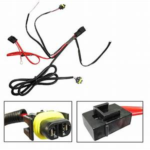 H11 880 Relay Wiring Harness Conversion Kit For Fog Light