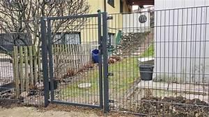 Sichtschutz Doppelstabmatten Anleitung : doppelstabmatten freistehendes gartentor montieren anleitung ~ Orissabook.com Haus und Dekorationen