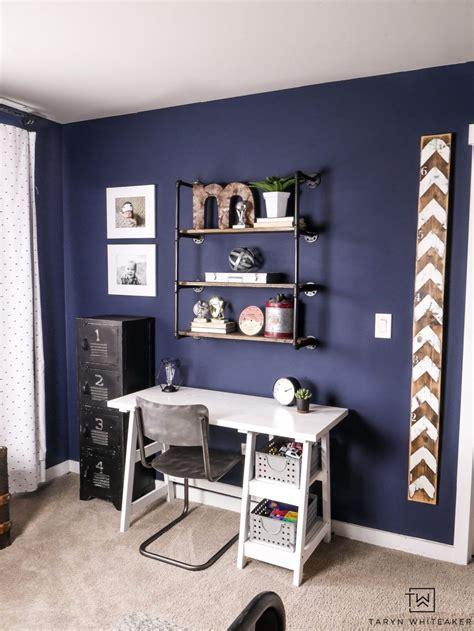rustic navy blue boys room decor blue room decor modern